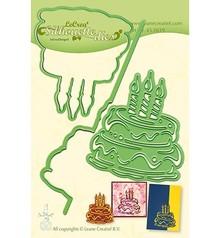 Leane Creatief Snijmal Silhouette Birthday Cake (45.5619)