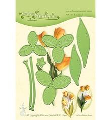 Leane Creatief Snijmal Flower 017 Tulip 3D (45.5657)