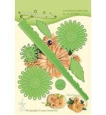 Leane Creatief Snijmal Flower 018 Chrysanthemum 3D (45.5664)