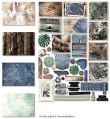 Studio Light Denim Saturdays Paper Elements (EASYDEN645)