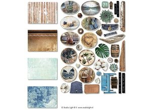 Studio Light Denim Saturdays Paper Elements (EASYDEN646)