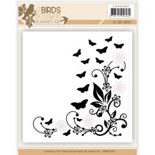 Jeanine's Art Birds & Flowers Cut & Embossing Folder (JAEMB10007)
