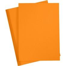 Paperpads.nl SELECT Basis Karton A4 Mandarijn (20 Vellen)