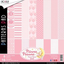 Ciao Bella Papercrafting Ninna Nanna Girl 12x12 Inch Patterns Pad (CBT018)