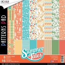 Ciao Bella Papercrafting Summer Tales 12x12 Inch Patterns Pad (CBT022)
