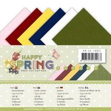 Precious Marieke Happy Spring Linnenpakket 13,5 x 27 cm (PM-4k-10021)