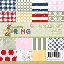 Precious Marieke Happy Spring 6x6 Inch Paper Pack (PMPP10022)