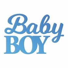 Couture Creations Baby Boy Sentiment Mini Die (CO726085)