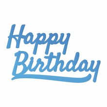 Couture Creations Happy Birthday Sentiment Mini Die (CO726089)