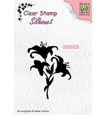 Nellie Snellen Lilies Clear Stamp (SIL052)