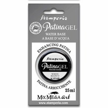 Stamperia Patina Gel Water Based White 25ml (K3P54B)