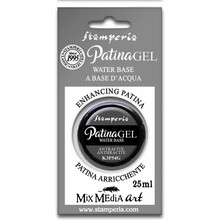 Stamperia Patina Gel Water Based Anthracite 25ml (K3P54G)
