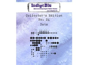 IndigoBlu Collectors Edition 24 Rubber Stamp - Dots (IND0493)