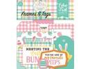Echo Park Easter Wishes Ephemera Frames & Tags (EW174025)