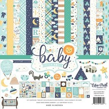 Echo Park Hello Baby Boy 12x12 Inch Collection Kit (BB172016)