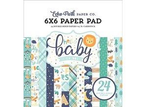 Echo Park Hello Baby Boy 6x6 Inch Paper Pad (BB172023)