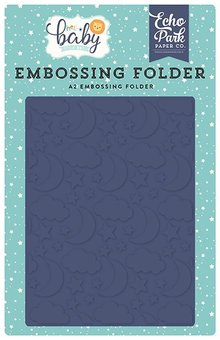 Echo Park Good Night Embossing Folder (BB172032)