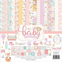 Echo Park Hello Baby Girl 12x12 Inch Collection Kit (BG171016)
