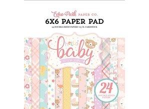 Echo Park Hello Baby Girl 6x6 Inch Paper Pad (BG171023)