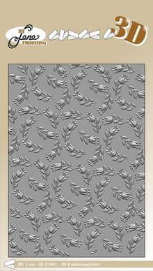 By Lene Tulips 3D Embossing Folder (BLE1001)