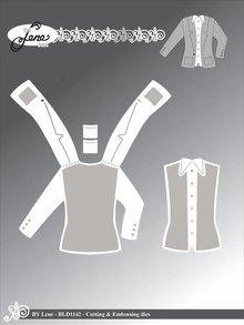 By Lene Metal Dies Jacket (BLD1142)