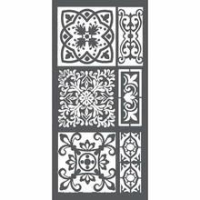 Stamperia Media Stencil Tiles (KSTDL20)