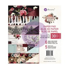 Prima Marketing Inc Midnight Garden 6x6 Inch Paper Pad (636012)
