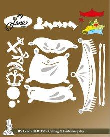By Lene Metal Dies Fairy Tale 6 (BLD1159)