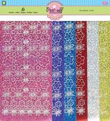 JEJE Produkt Peel-Off Stickers Set Flowers (3.9934)