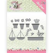 Amy Design Spring Is Here Flowerpots Die (ADD10169)