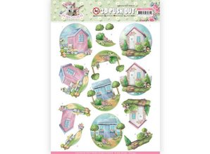 Amy Design 3D Push Out Spring Is Here Garden Sheds (SB10334)