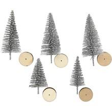 Paperpads.nl SELECT Mini Kerstbomen Zilver