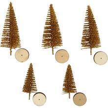 Paperpads.nl SELECT Mini Kerstbomen Goud
