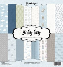 Papirdesign Baby Boy 12x12 Inch Paper Pack (PD 18014)