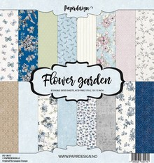 Papirdesign Flower Garden 12x12 Inch Paper Pack (PD 18017)