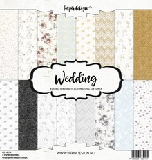 Papirdesign Wedding 12x12 Inch Paper Pack (PD 18019)