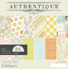 Authentique Dreamy 6x6 Inch Paper Pad (DRE008)