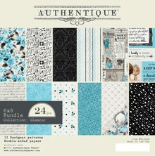 Authentique Glamour 6x6 Inch Paper Pad (GLA008)