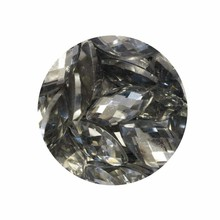 Nuvo Pure Sheen Gemstones Silver Rectangles (1403N)