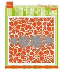 Marianne Design Design Folder Poppies EXTRA (DF3452)