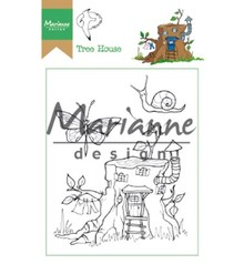 Marianne Design Hetty's Tree House Clear Stamps (HT1642)