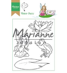 Marianne Design Hetty's Water Fairy Clear Stamps (HT1646)
