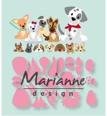 Marianne Design Collectable Eline's Puppies (COL1464)