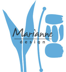 Marianne Design Creatable Build-a-Tulip (LR0586)