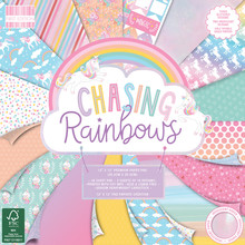 First Edition Chasing Rainbows 12x12 Inch Paper Pad (FEPAD206)