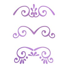 Couture Creations Butterfly Garden Mini Borders Hot Foil Stamp (CO726563)