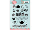Yvonne Creations Flowers with a Twist Clear Stamp Set (YCCS10048)