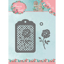 Yvonne Creations Flowers with a Twist Rose Label Cutting Die (YCD10166)