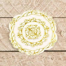 Couture Creations Nesting Circular Flourished Frames Cut, Foil & Emboss Die (CO726463)