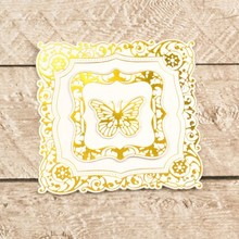 Couture Creations Nesting Butterfly Frames Cut, Foil & Emboss Die (CO726467)